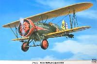 ハセガワ1/32 飛行機 限定生産ボーイング P-12E 第6追撃中隊