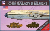 ロッキード C-5A ギャラクシー & M1 エイブラムス、M2/3 ブラッドレー