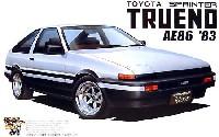 アオシマ1/24 ザ・ベストカーGTトヨタ スプリンター トレノ AE86 1983 (前期型)