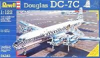 レベル飛行機モデルダグラス DC-7