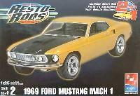 AMT/ERTL1/25 カーモデル1969 マスタング マッハ 1 レストロッド