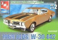 AMT/ERTL1/25 カーモデル1969 オールズ W-30 442