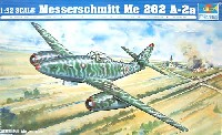 トランペッター1/32 エアクラフトシリーズメッサーシュミット Me262A-2a