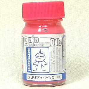 ブリリアントピンク(光沢)塗料(ガイアノーツガイアカラーNo.016)商品画像