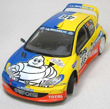 プジョー 206 WRC ミシュラン ラリー オブ グレートブリテン 2002 デカールデカール(スタジオ27ラリーカー オリジナルデカールNo.DC598C)商品画像_4