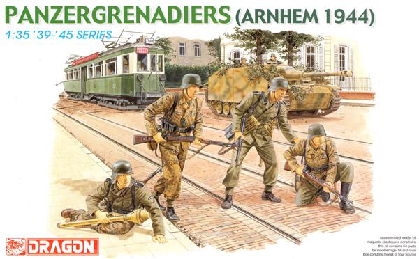 ドイツ 装甲擲弾兵 アルンヘム 1944プラモデル(ドラゴン1/35 39-45 SeriesNo.6161)商品画像
