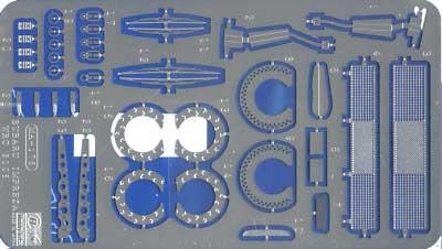スバル インプレッサ WRC 2005用 エッチングパーツエッチング(ハセガワ1/24 QG帯シリーズNo.QC008)商品画像_2