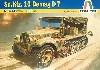ドイツ 1トン ハーフトラック Sd.Kfz.10 デマーグD7