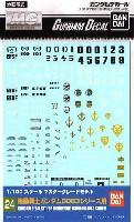 バンダイガンダムデカール機動戦士ガンダム 0083シリーズ用