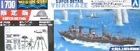 アオシマ1/700 ウォーターラインシリーズ スーパーディテール日本駆逐艦 雪風 菊水作戦 スーパーデティール