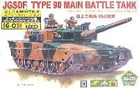 ピットロード1/72 スモールグランドアーマーシリーズ90式戦車 (エッチングパーツ付)