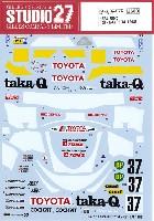 トヨタ 88C taka-Q ル・マン 1988 デカール