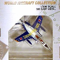 ワールド・エアクラフト・コレクション1/200スケール ダイキャストモデルシリーズT-4 第1航空団 第31飛行隊 50周年記念塗装 (青/66-5747)