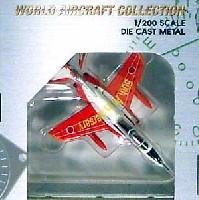 ワールド・エアクラフト・コレクション1/200スケール ダイキャストモデルシリーズT-4 第1航空団 第32飛行隊 50周年記念塗装 (赤/56-5734)