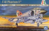イタレリ1/48 飛行機シリーズマクダネル ダグラス F-4J ファントム 2