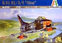イタレリ1/48 飛行機シリーズアエリタリア G.91 R/1 R/3 R/4 ジーナ