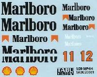 マクラーレン MP4/4対応 Marlboro タバコデカール