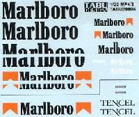 マクラーレン MP4/8対応 Marlboro タバコデカール