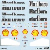 タブデザイン1/24 デカールフェラーリ F2005対応 Marlboro タバコデカール