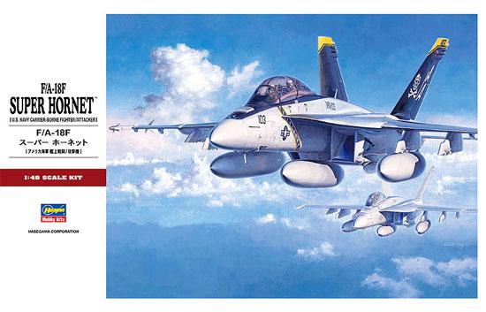 F/A-18F スーパーホーネットプラモデル(ハセガワ1/48 飛行機 PTシリーズNo.PT038)商品画像