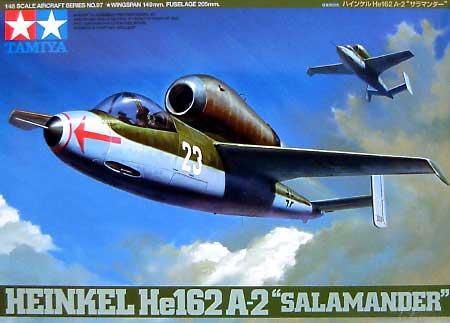 ハインケル He162 A-2 サラマンダープラモデル(タミヤ1/48 傑作機シリーズNo.097)商品画像