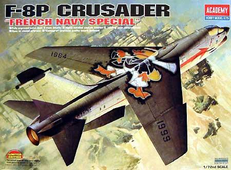 F-8P クルセイダー フランス海軍特別仕様プラモデル(アカデミー1/72 Scale AircraftsNo.12407)商品画像
