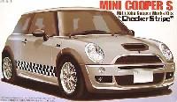 フジミ1/24 リアルスポーツカー シリーズ (SPOT)ミニ クーパーS w/ジョン・クーパー ワークス キット チェッカーストライプ