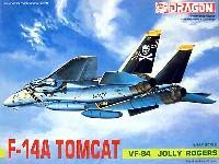 ドラゴン1/144 ウォーバーズ (プラキット)F-14A トムキャット VF-84 ジョリーロジャース