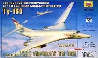 ズベズダ1/144 エアモデルツポレフ TU-160 超音速爆撃機 ブラックジャック
