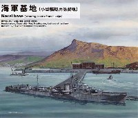 ピットロード1/700 スカイウェーブ SW シリーズ海軍基地 (小型艦艇用係留地)