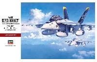 ハセガワ1/48 飛行機 PTシリーズF/A-18F スーパーホーネット