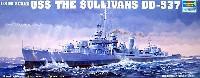 トランペッター1/350 艦船シリーズUSS フレッチャー級駆逐艦 ザ・サリバンズ (DD-537)