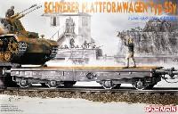 ドイツ 軍用列車 平積貨車 (無蓋車) Typ Ssy