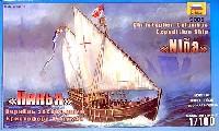 ズベズダ帆船スペイン軍船 ニーナ