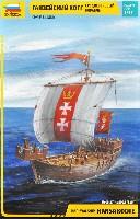 ズベズダ帆船ハンサ・カグ輸送船