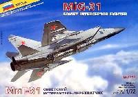 ズベズダ1/72 エアクラフト プラモデルMiG-31 インターセプター