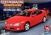 AMT/ERTL1/25 カーモデル2004 ポンティアック GTO