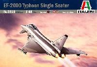 イタレリ1/48 飛行機シリーズEF-2000 タイフーン 単座型