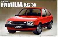 アオシマ1/24 ザ・ベストカーヴィンテージマツダ ファミリア XG (1980年式)