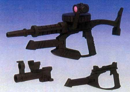 WA-32 1/144 120mm ザクマシンガン ワイドグリップレジン(BクラブウェポンアクセサリーNo.2791)商品画像_2