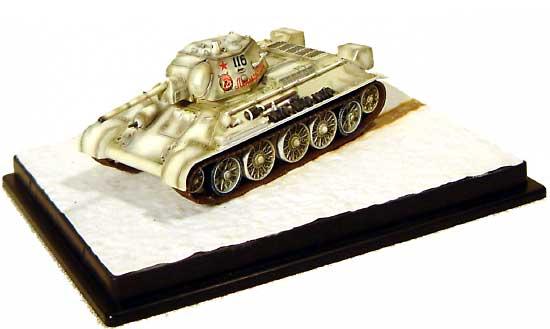 T-34/76 Mod.1942 第30親衛戦車旅団 レニングラード戦線 1944完成品(ドラゴン1/72 ドラゴンアーマーシリーズNo.60166)商品画像_2