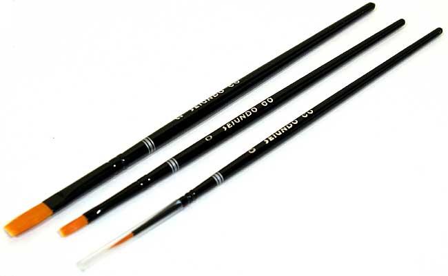 飛行機モデル用 ブラシセット筆(SEIUNDOハイグレードブラシセットNo.670039)商品画像_1