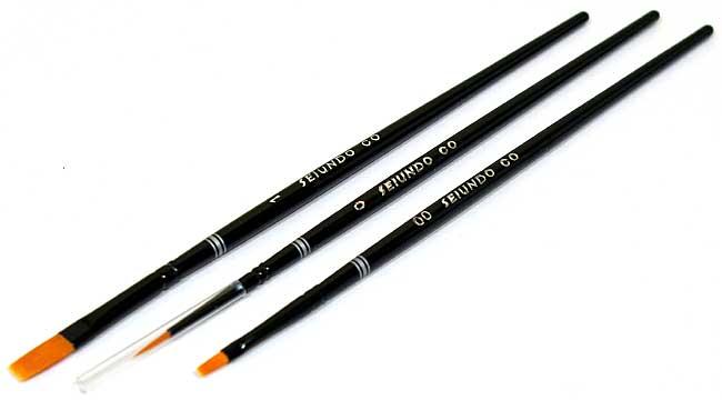 カーモデル用 ブラシセット筆(SEIUNDOハイグレードブラシセットNo.670015)商品画像_1