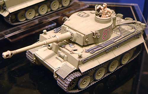 ドイツ重戦車 タイガー 1 極初期生産型 (アフリカ仕様)プラモデル(タミヤ1/48 ミリタリーミニチュアシリーズNo.029)商品画像_2