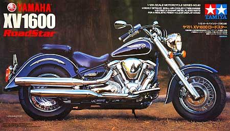ヤマハ XV1600 ロードスタープラモデル(タミヤ1/12 オートバイシリーズNo.080)商品画像