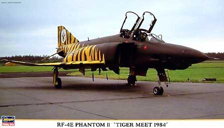 RF-4E ファントム 2 タイガーミート 1984プラモデル(ハセガワ1/72 飛行機 限定生産No.00806)商品画像