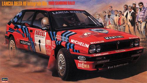 ランチア デルタ HF インテグラーレ 16v 1989 サンレモラリープラモデル(ハセガワ1/24 自動車 CRシリーズNo.CR008)商品画像