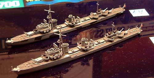 ドイツ海軍駆逐艦 Z級 (Z37-39) バルバラ改修 (2艦セット)プラモデル(タミヤ1/700 ウォーターラインシリーズNo.908)商品画像_2