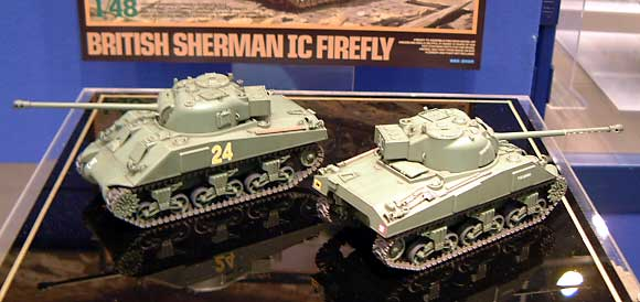 イギリス戦車 シャーマン 1C ファイアフライプラモデル(タミヤ1/48 ミリタリーミニチュアシリーズNo.032)商品画像_2