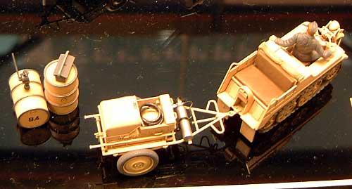 ドイツ航空機用電源車 ケッテンクラート牽引セットプラモデル(タミヤ1/48 ミリタリーミニチュアシリーズNo.033)商品画像_3